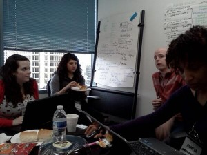 Startup Weekend Philly- Day 2 hr 4.5: impromptu coaching from @chriscera….